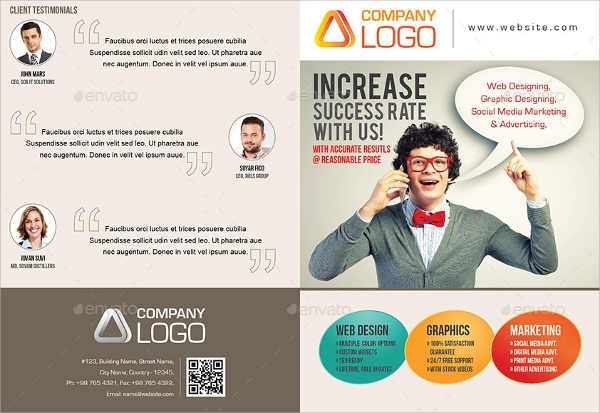 best advertising brochure template