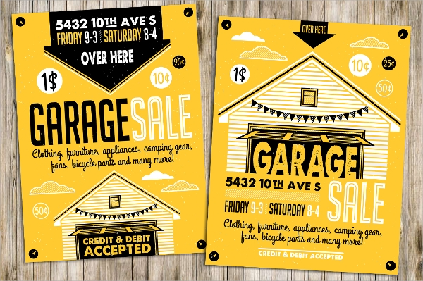 20+ Yard Sale Flyer Templates - PSD, EPS Format Download