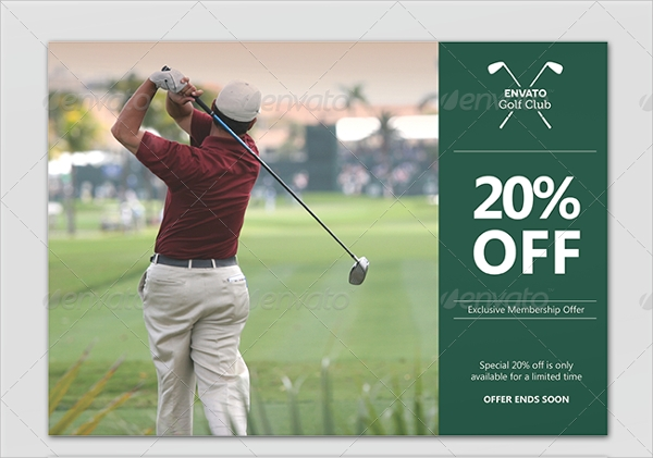 discount flyer template design