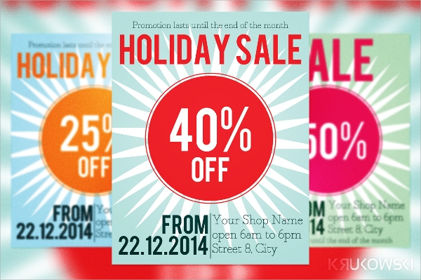 sales discount flyer templates