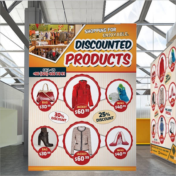 discount products flyer