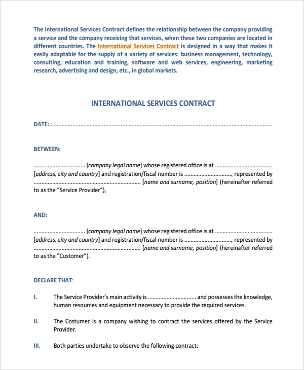 two party international service contract1