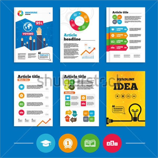 University Brochure Templates  Psd Eps Format Download