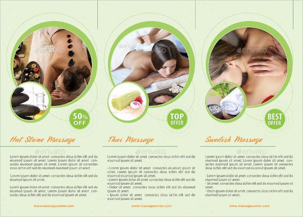 16 Massage Brochures PSD EPS Format Download – Massage Brochure