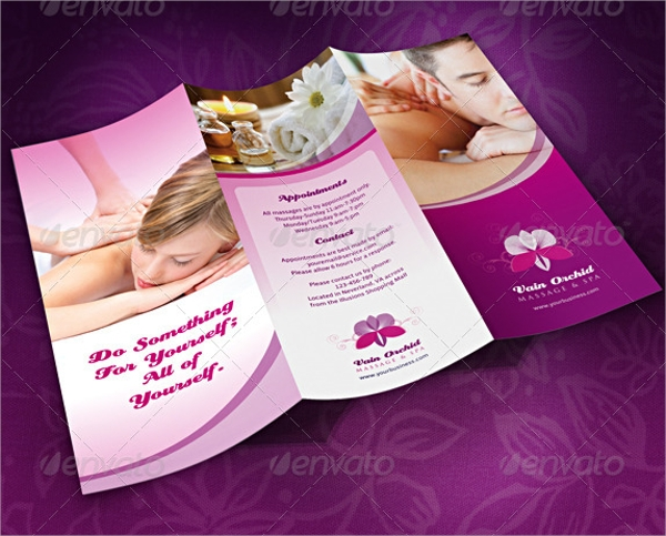 23  massage brochures