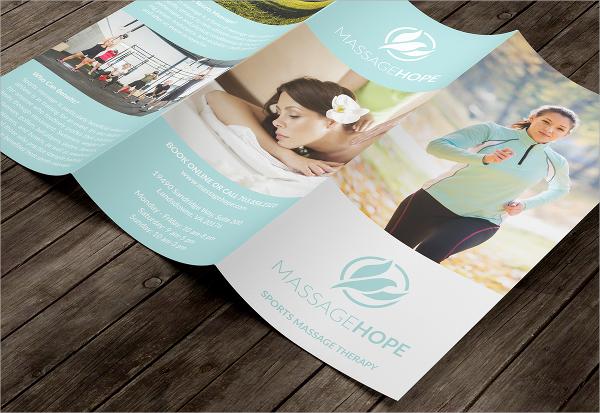 massage hope brochure