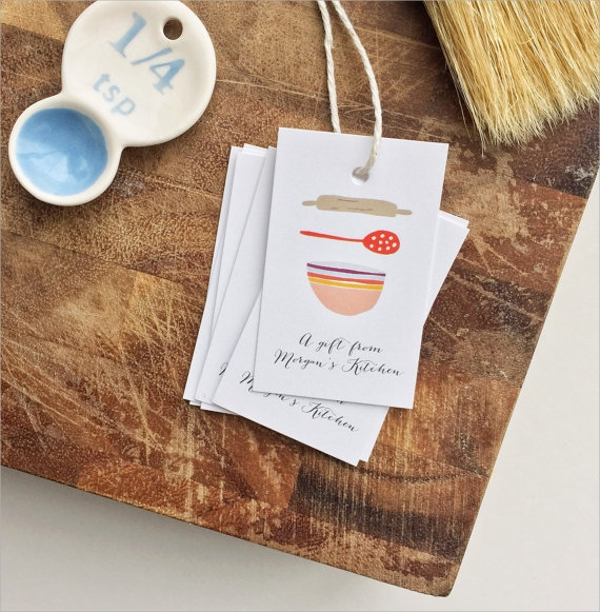 bake sale tag template