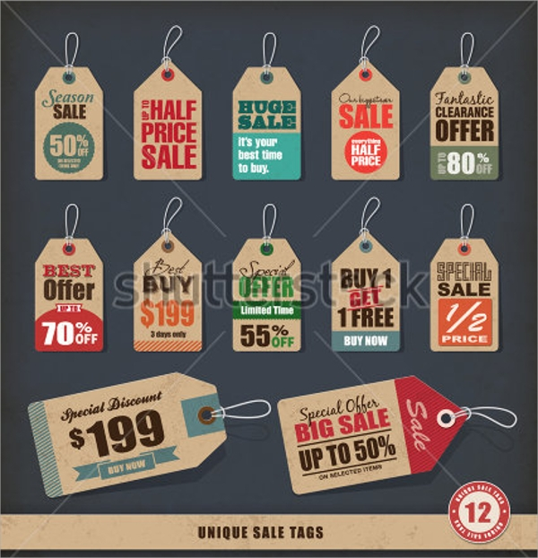 Sale Tag Templates