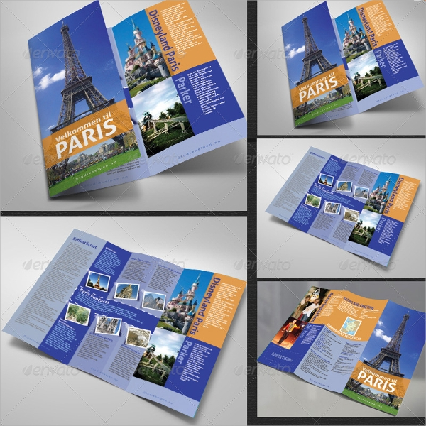 tourist guide brochure template