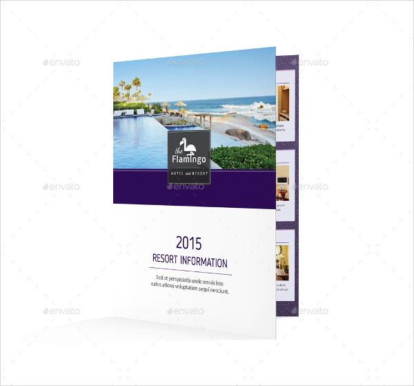 bi fold tourist brochure