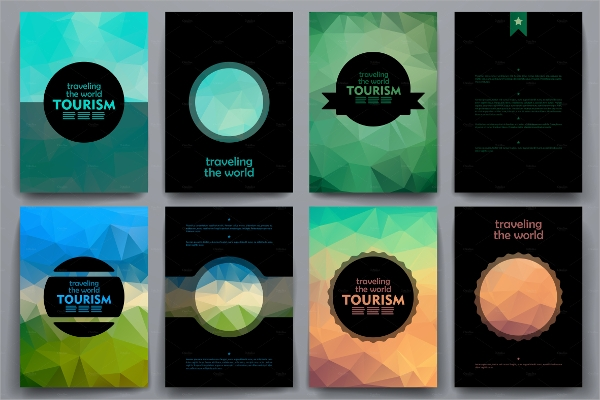 tourist brochure catalog design