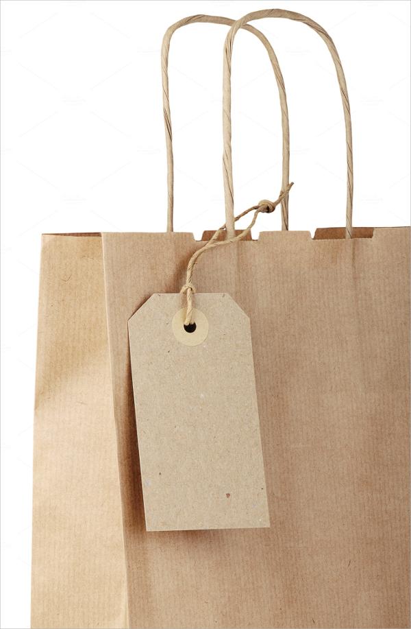 paper bag tag template