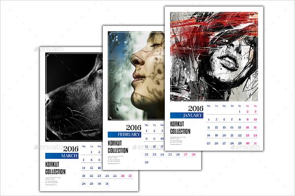 office wall calendar template1