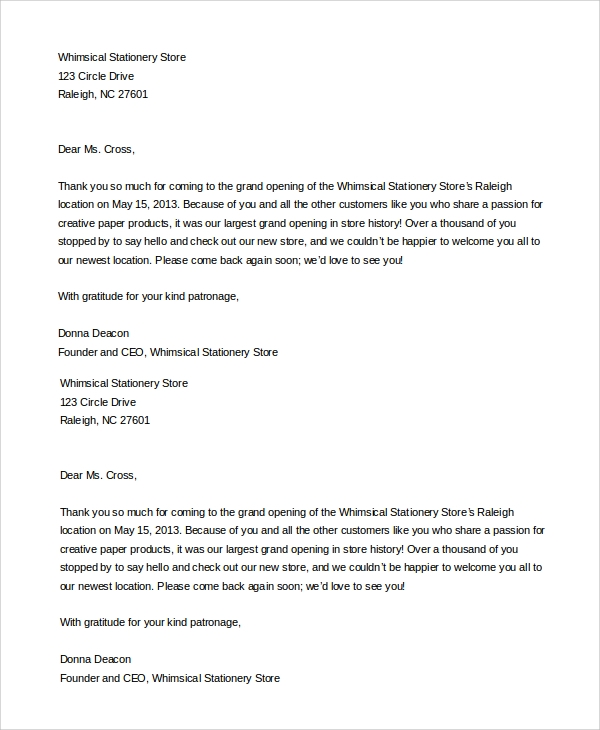 Sample Business Meeting Invitation Letter