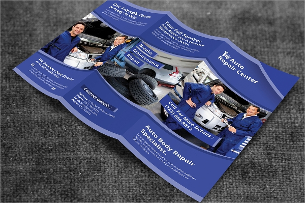 trifold services brochure