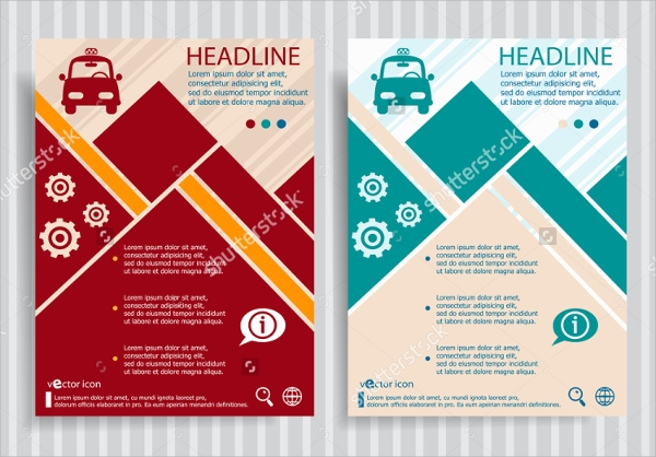 car services brochure