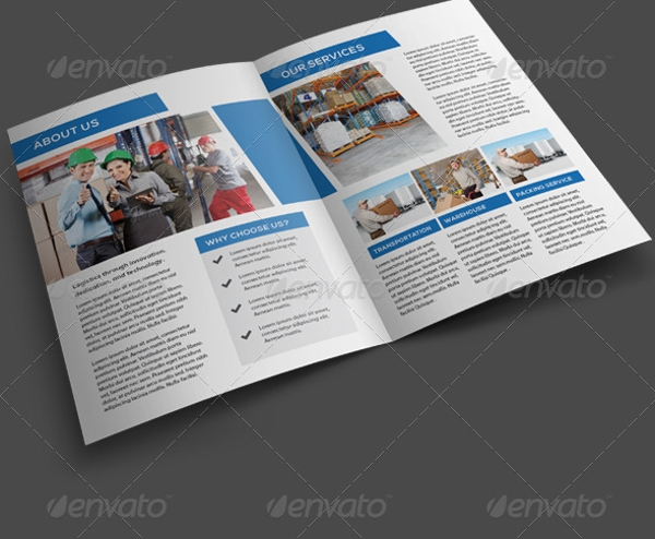 flexible logistics service brochure