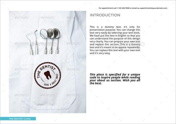 oral services brochure
