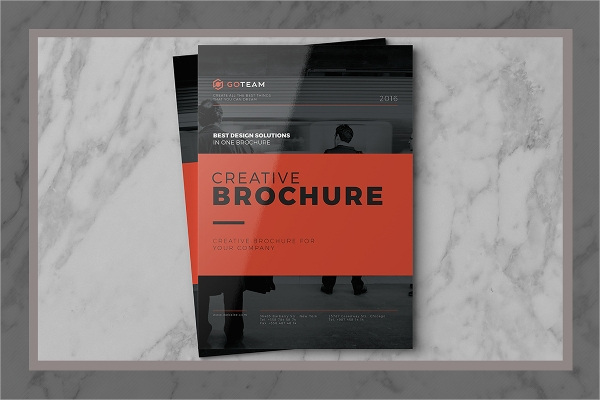professional services brochure