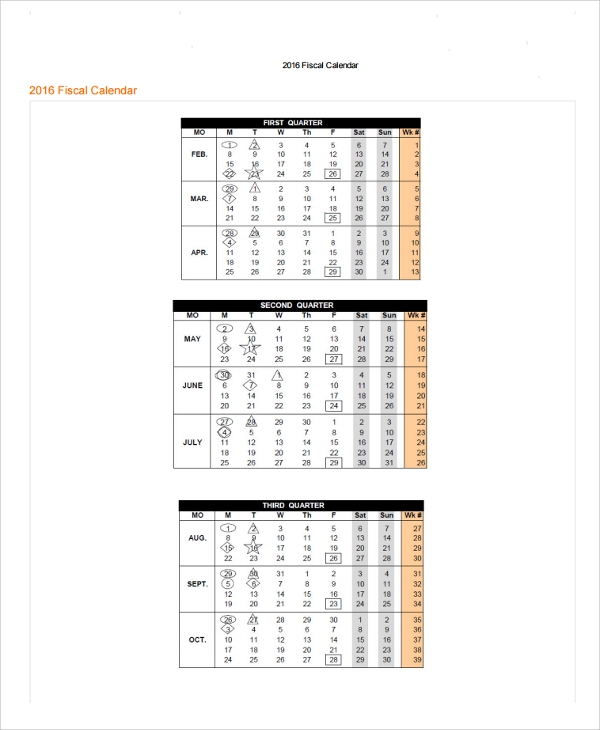 Sample Calendar Template   Free Documents Download In Word Pdf Xls