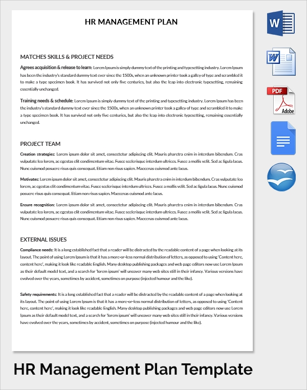 FREE 21+ Sample HR Strategy Templates in PDF, Word