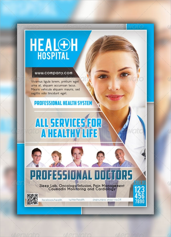 19 Hospital Flyer Templates Psd Vector Eps Format Download