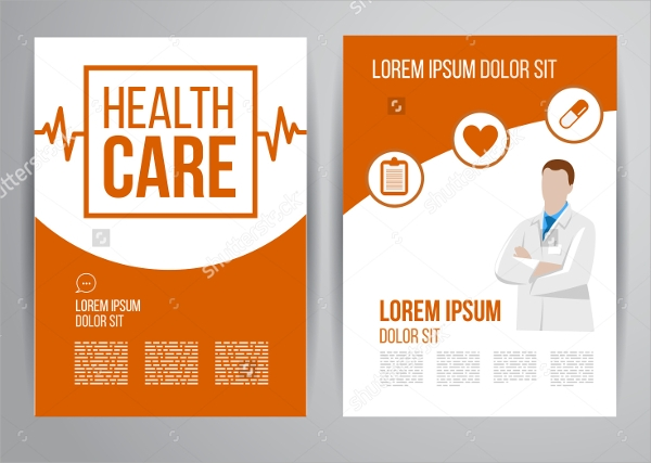 Hospital Flyer Templates  Psd Vector Eps Format Download