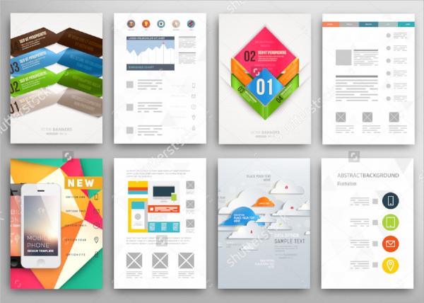 set of web flyer templates1