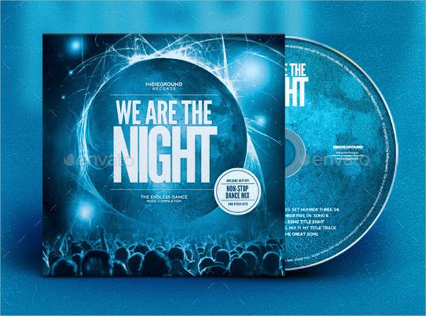 nightclub cd album artwork