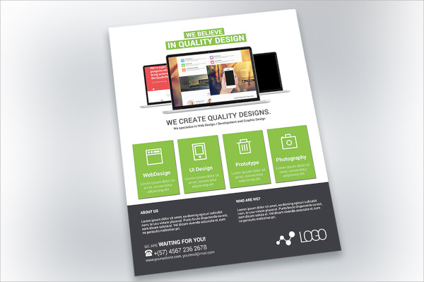 Web Flyer Templates Psd Free Eps Format Download