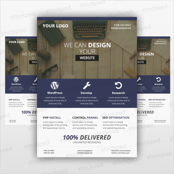 web flyer templates free