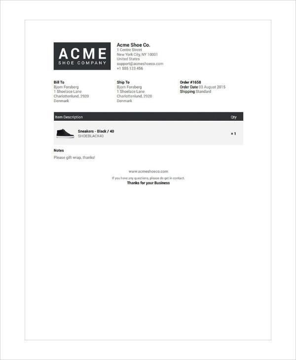 premium shipping slip template1