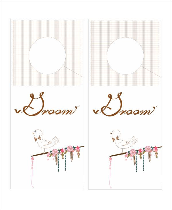 sample promotional door hangers templates