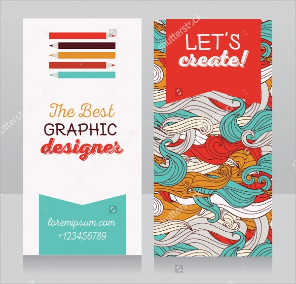 graphic designer business card sample1