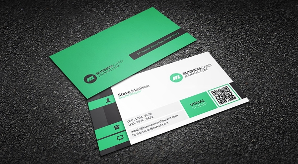 free business card sample