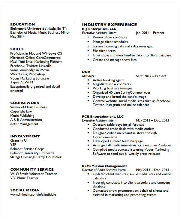 camp counsellor resume