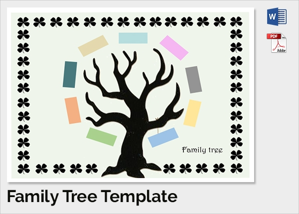 beautiful family tree template