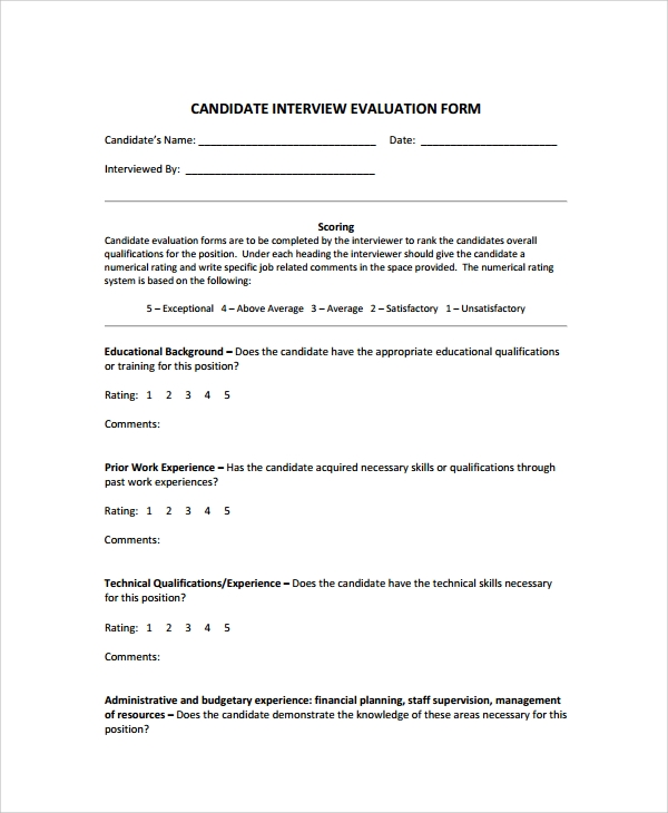 Sample Interview Summary Templates 5 Free Documents Download in – Interview Summary Template