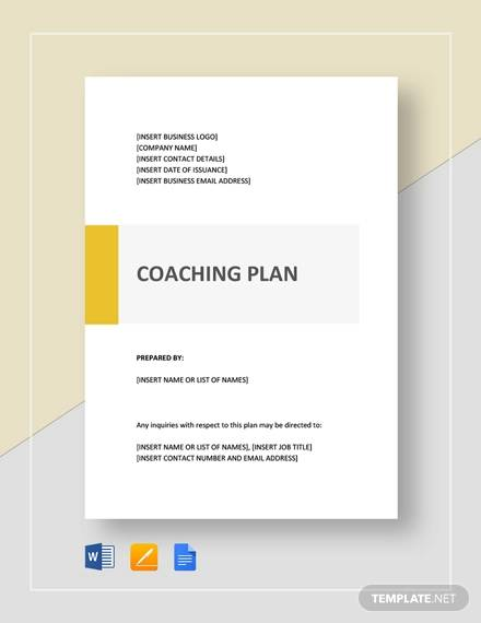 coaching plan template1
