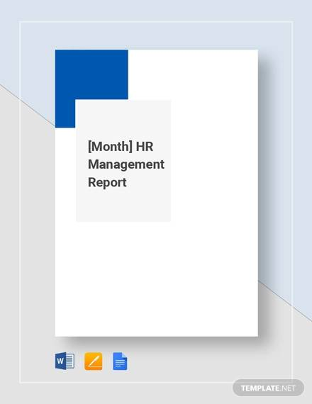 hr monthly management