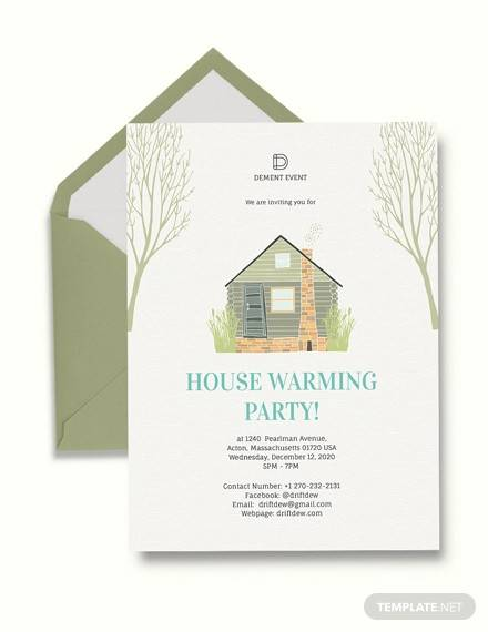 19 Housewarming Invitation Templates