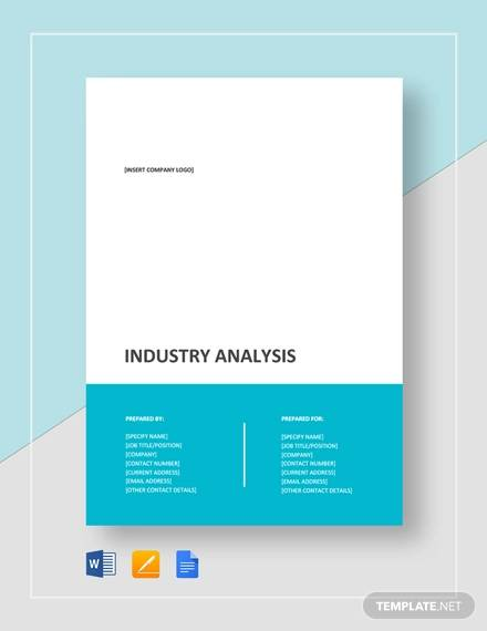 industry analysis template1