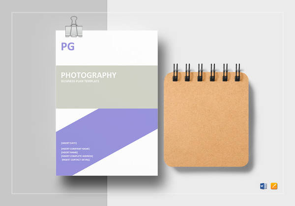Sample Photography Business Plan   Documents In Pdf