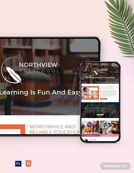 preschool monthly newsletter template