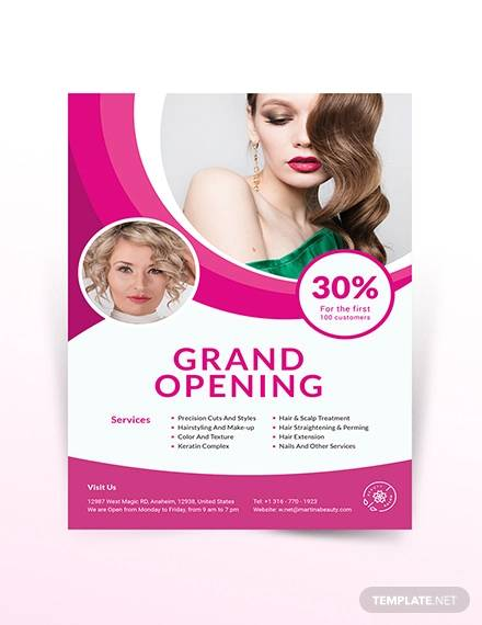 Beauty Salon Flyer Template from images.sampletemplates.com