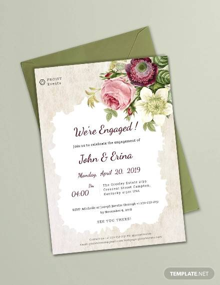 sample engagement invitation