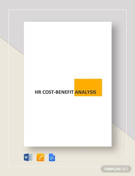 simple hr cost benefit analysis