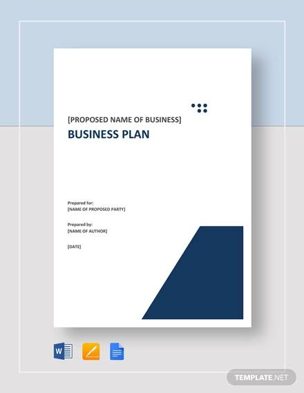 business plan template1