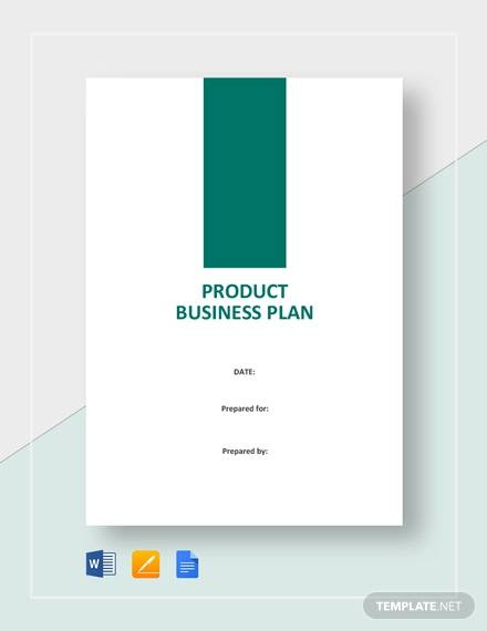 product business plan