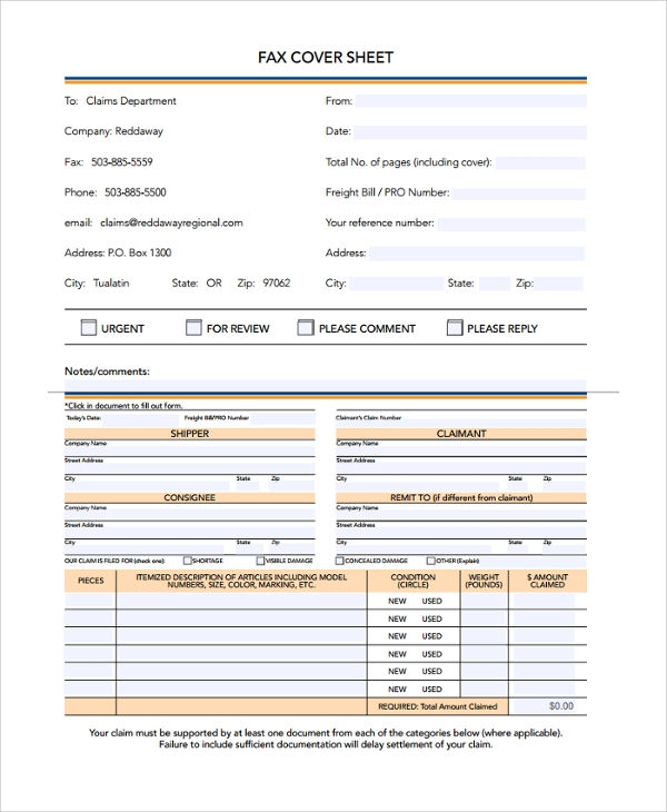 Sample Urgent Fax Cover Sheet Business Fax Cover Sheet Template Pdf
